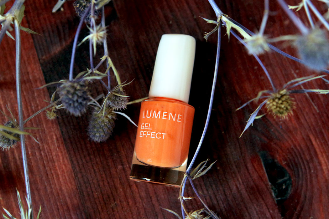 Лак для ногтей Lumene gel effect отзыв