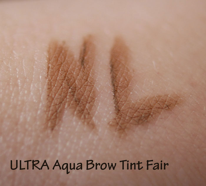 ULTRA Aqua Brow Tint Fair свотч