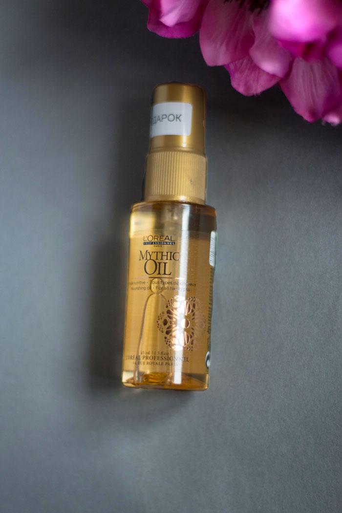 Питательное масло Mythic Oil от L'Oreal Professional отзыв