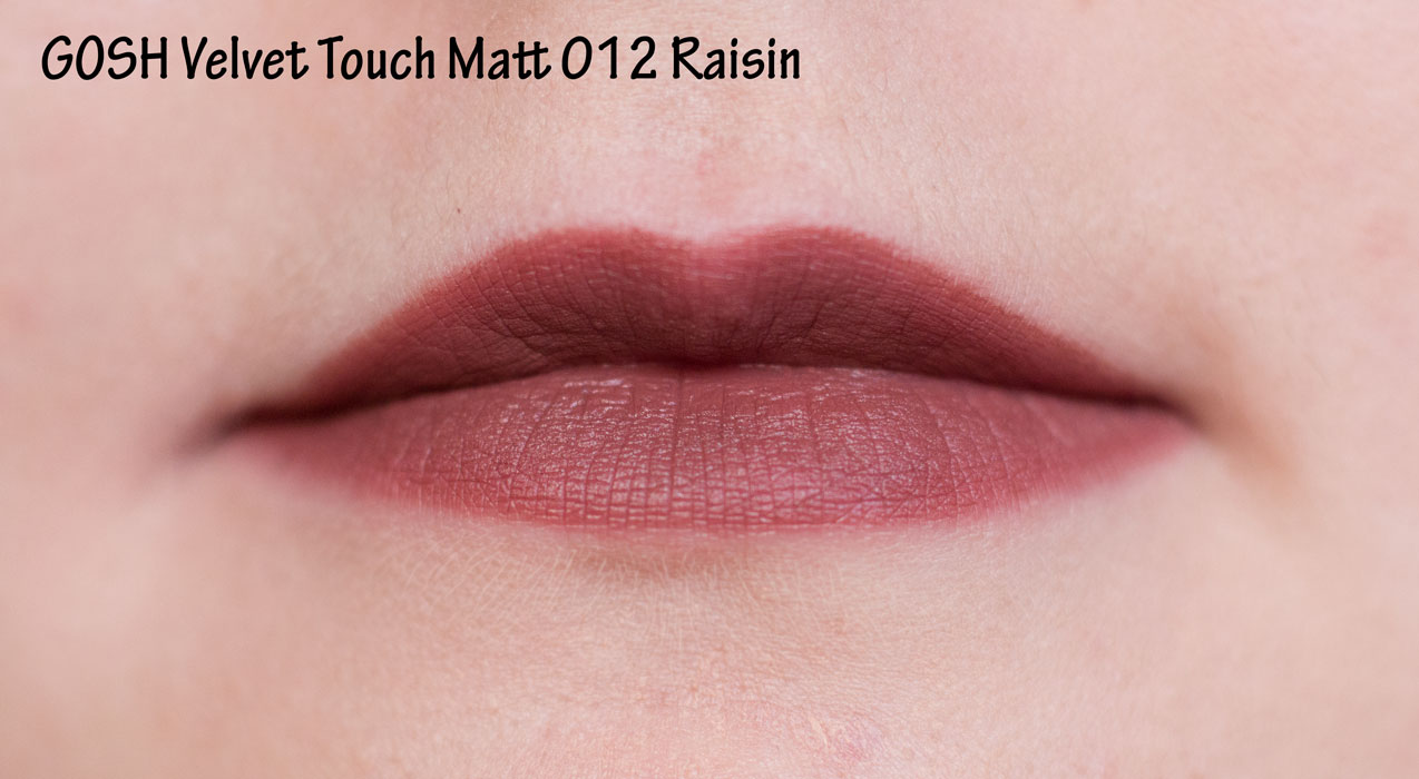 GOSH Velvet Touch Matt 012 Raisin