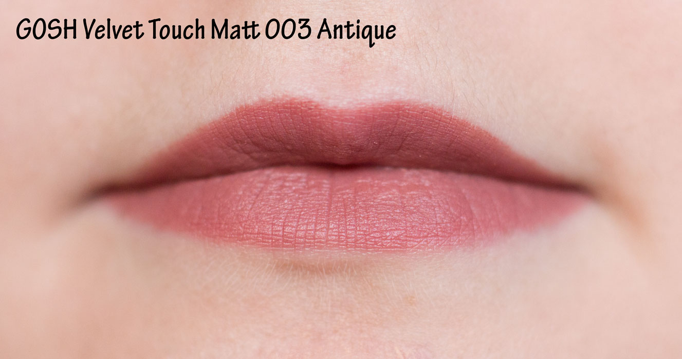 GOSH Velvet Touch Matt 003 Antique
