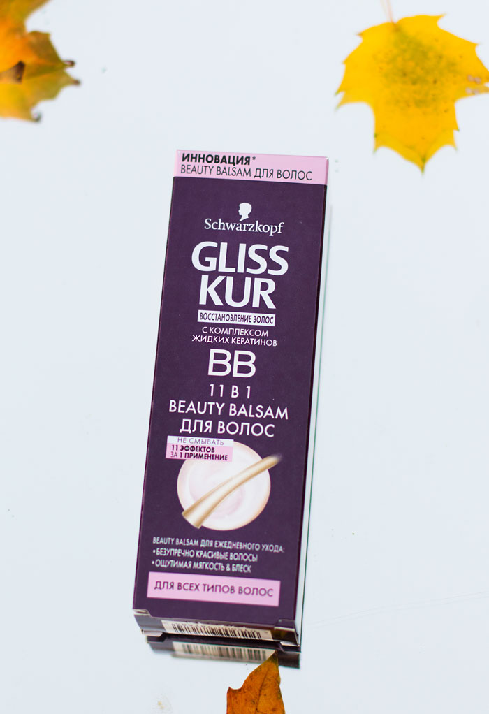 Бальзам для волос Gliss Kur Beauty Balsam (BB) отзыв