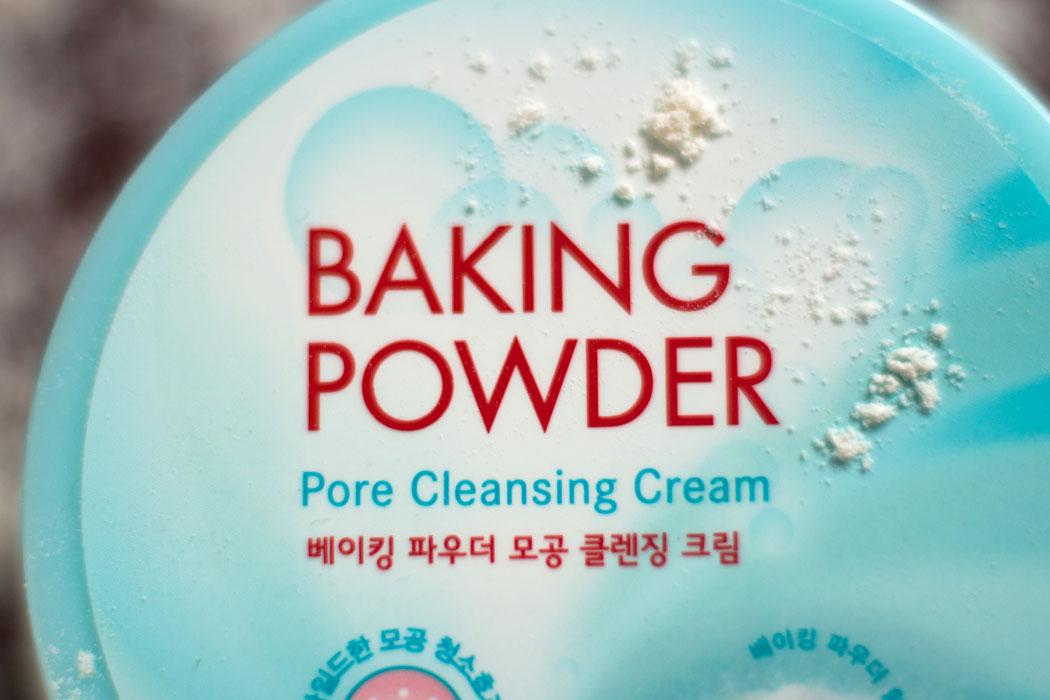крем для снятия макияжа baking powder etude house