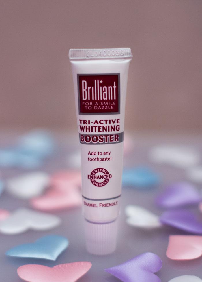 Отбеливающий гель для зубов Tri-Active Whitening Booster от Brilliant отзыв