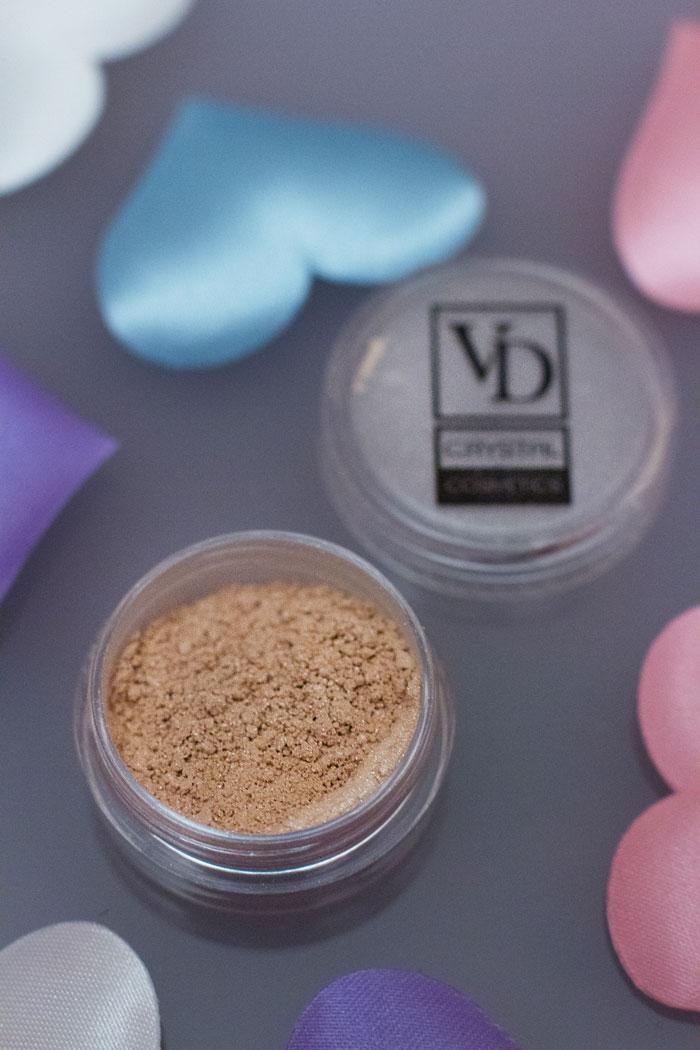 Минеральные тени VD Crystal Cosmetics от Valeri-D отзыв