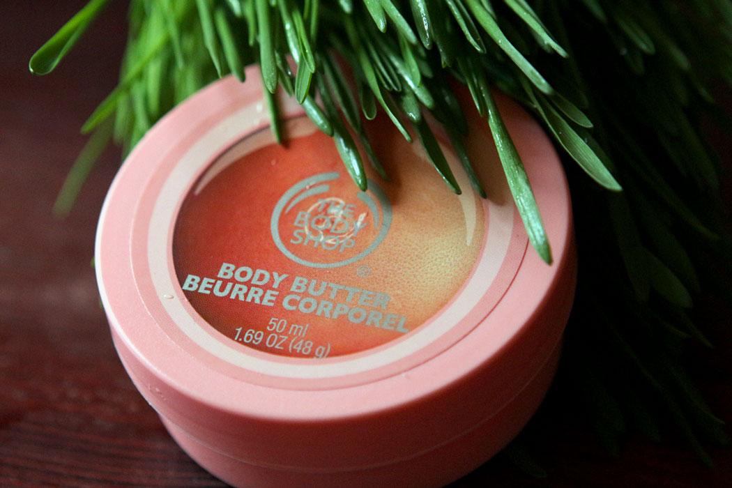 масло для тела грейпфрут от Body Shop отзыв